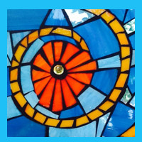 Stained Glass on Glass Mosaics